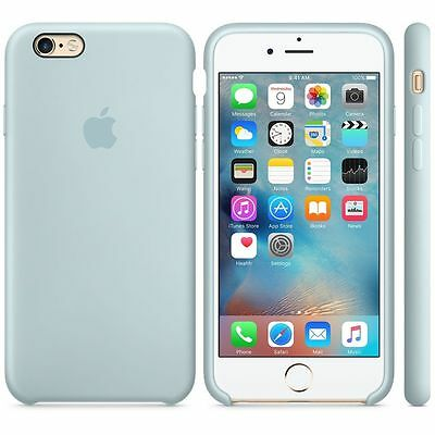NEW - Genuine Silicone Case for Apple iPhone 6s / 6 in Turquoise