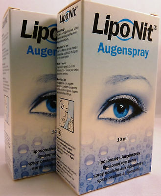 Lipo Nit - Augenspray -  Doppelpack