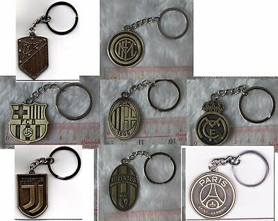 uk football soccer league club metal keychain chain ring souvenior