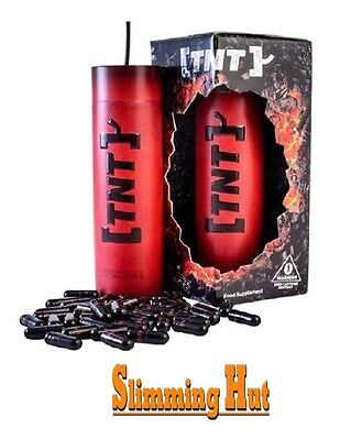 TNT Fat Burner Strongest Legal Weight Loss Diet Slimming Formula - 120 Capsules