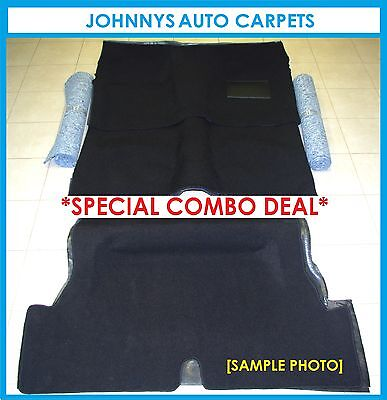 Vb, Vc, Vh & Vk Commodore Car Carpet,boot Floor Carpet & Underfelt