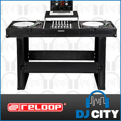 TTM-Case Reloop Turntable Console Roadcase with Fold out Leg Support