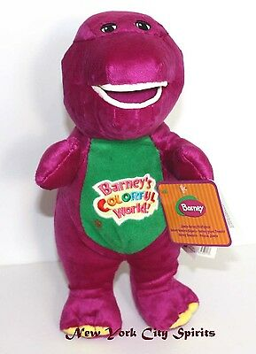 """Barney Plush Singing """" I Love You"""" Song 12 Inches"""
