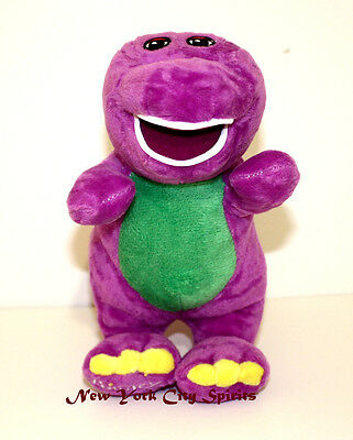 """Barney Plush Singing """"I Love You"""" Song 7 Inches"""