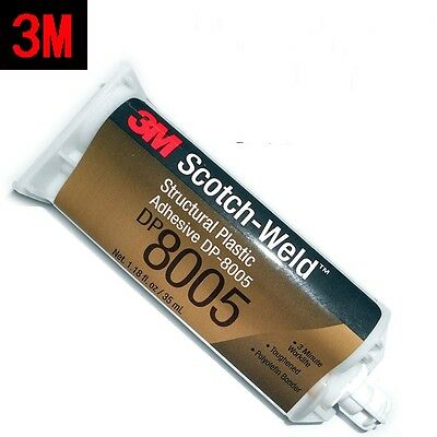 3M Scotch-Weld DP8005 Structural Plastic Adhesive 35mL Translucent #A00M LW