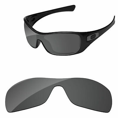 150a4b7f03 PapaViva Black Polarized Replacement Lenses For-Oakley Antix Sunglasses