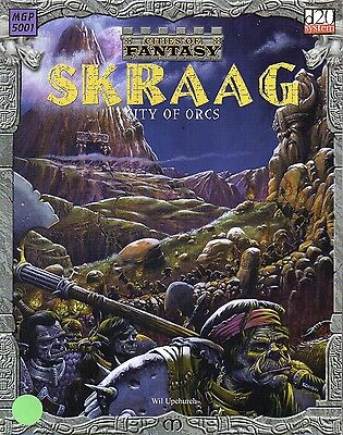 CITIES OF FANTASY-SKRAAG-CITY OF ORCS-MONGOOSE PUBLISHING-(SC)-rare
