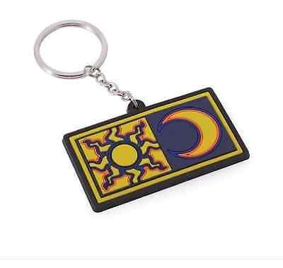 NEW Official Valentino Rossi Sun and Moon Keyring