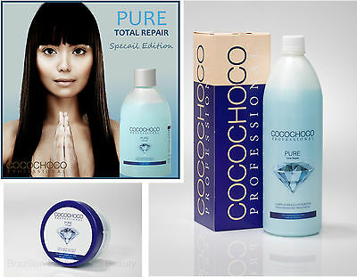Cocochoco Pure Brazilian Keratin Treatment Blow Dry Hair Straightening Kit Multi
