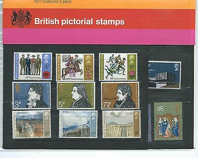 Gb - Collectors Packs - Commemoratives  - 1971 - Unmounted Mint