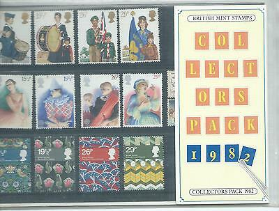 Gb - Collectors Packs - Commemoratives  - 1982 - Unmounted Mint