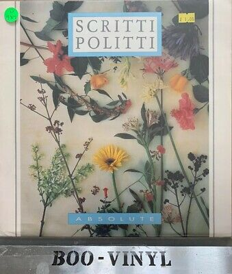 "Scritti Politti Absolute 12"" Vinyl Single (1984) Picture Sleeve Virgin ‎– VS 680"
