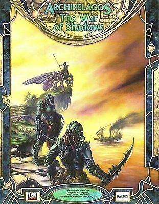 ARCHIPELAGOS-The War of Shadows-d20-RPG-Roleplaying Game-(SC)-very rare