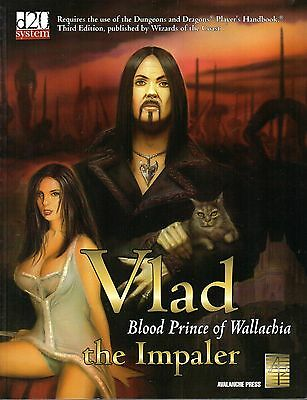 Vlad the Impaler-Blood Prince of Wallachia-Handbook-d20-Roleplaying Game-(SC)