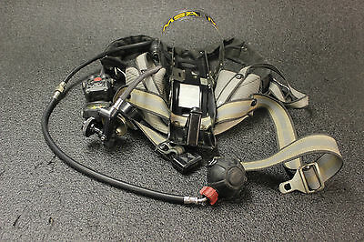 MSA 1992 Harness Carrier SCBA Ultralite Integrated PASS Air Supply Alarm 492394