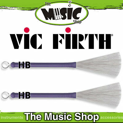 New Set of Vic Firth HB Heritage Brush - Drum Brushes