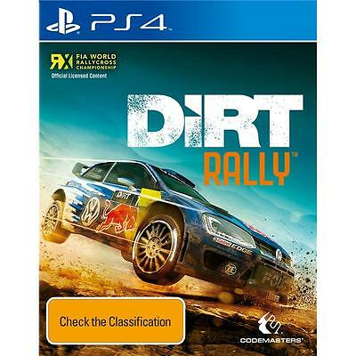 DiRT Rally PS4 *NEW!* + Warranty!