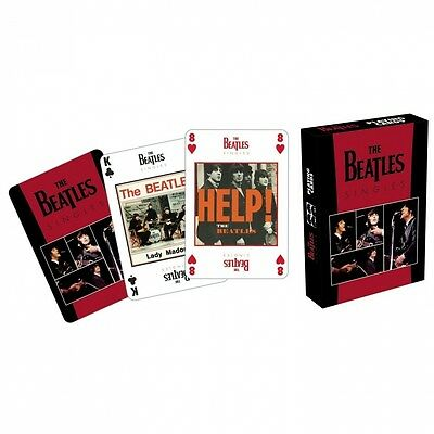 Beatles Singles Playing Cards. Delivery is Free