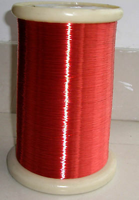 polyurethane Enameled Copper Wire Magnet Wire 2UEW/155 0.2mm Red #A40A LW