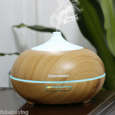 LED Essential Oil Aroma Diffuser Aromatherapy Ultrasonic Air Humidifier Purifier