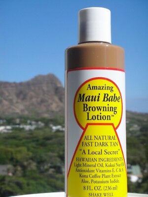 Maui Babe Browning Lotion 8 Fl Oz (236 Ml). Shipping is Free