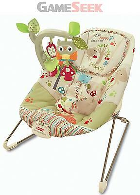 Mattel Fisher-Price Woodsy Friends Comfy Time Bouncer | Free Delivery New