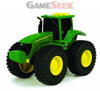 John Deere Monster Treads Lights And Sounds Tractor - Toys Brand New