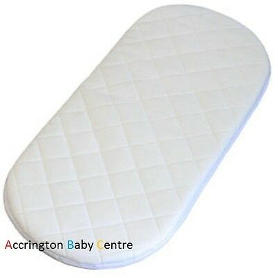NEW SAFETY MATTRESS FOR phil and teds promenade carrycot CARRYCOT /QUILTED