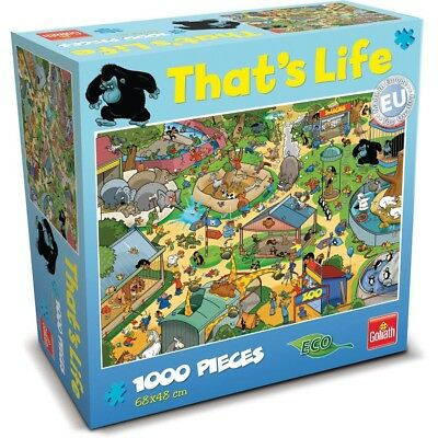 Goliath 71308 That's Life Puzzle 'Zoo'