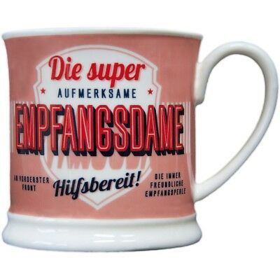 Heart and Home 00047 Retro-Becher Empfangsdame