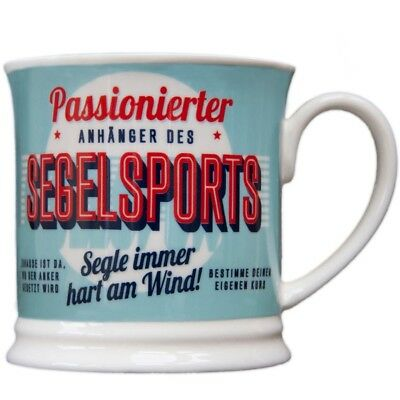 Heart and Home 00033 Retro-Becher Segelsports