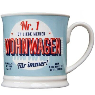 Heart and Home 00036 Retro-Becher Wohnwagen