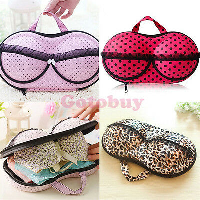 Container Underwear Case Travel Portable Storage Bag Box Protect Bra OrganizerBO