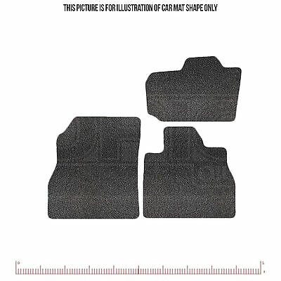 Premium Tailored Car Mats set of 4 - fits Nissan Leaf 2011 onwards