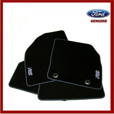 Genuine Ford Focus MK2 RS Velour Carpet Mats Set of 4 2005-2011 Tailored Fit
