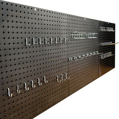 Garage Steel Peg Board 6ft, 1.83m by Seville and Peg Kit Free Delivery!!