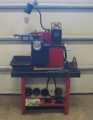 Van Norman 243 One Pass Variable Speed Disc and Drum Brake Lathe w/ Stand #1
