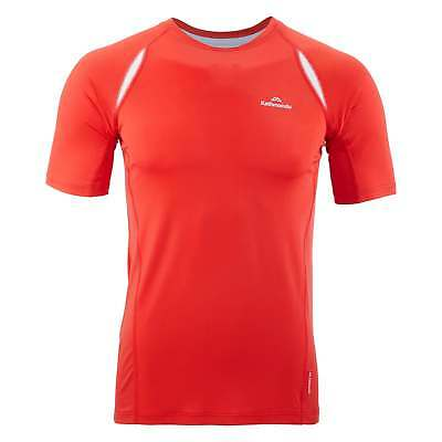 Kathmandu Lato Mens Fitted Tee Short Sleeve Lightweight Hiking T-Shirt Top New