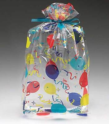 Balloon Celebration Printed Cello Bags - size 11