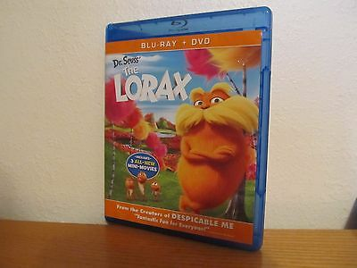 DR SEUSS THE LORAX -  Blu Ray Only - No DVD or UV Code - Comes with Case and Art
