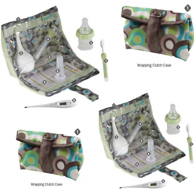 2 X Safety 1st Baby Complete Healthcare Kit Complete with Clutch Case