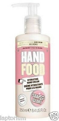 Soap And Glory Hand Food Non-greasy Hydrating Hand Cream Pump 250ml Shea Butter