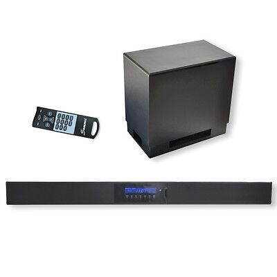 Summit Soundbar A50-1000B mit Subwoofer & Bluetooth