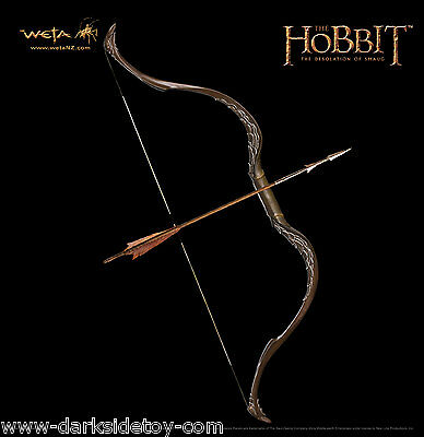 The Hobbit Bow and Arrow of Tauriel by Weta Not Sideshow United Cutlery Sealed