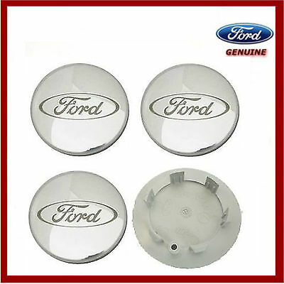 Genuine Ford Alloy Wheel Center Caps x4 Fits Various Wheels/Model. 1064115 New!
