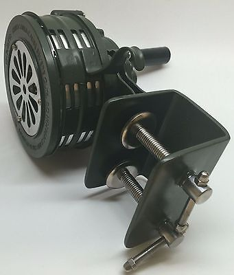 Temporary Mount Metal Hand Crank Siren  Emergency Air Raid Warning Device