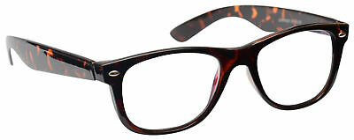 Brown Tortoiseshell Myopia Near Short Sighted Distance Glasses Mens Womens M7-2
