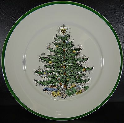 """Cuthbertson House Christmas Tree 10"""" Dinner Plate Multiples Lord Nelson"""