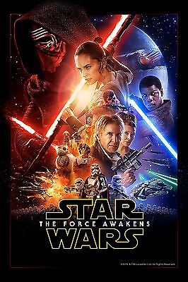 """Star Wars: The Force Awakens - 24""""x16"""" - print Movie Poster"""
