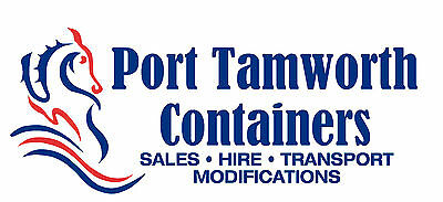 20ft Shipping Container Rental - Tamworth stating at $4.40 Per Day